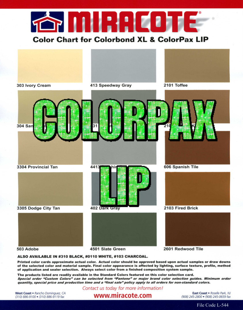 Manufacturer color charts deco crete supply colorpax lip color chart nvjuhfo Images