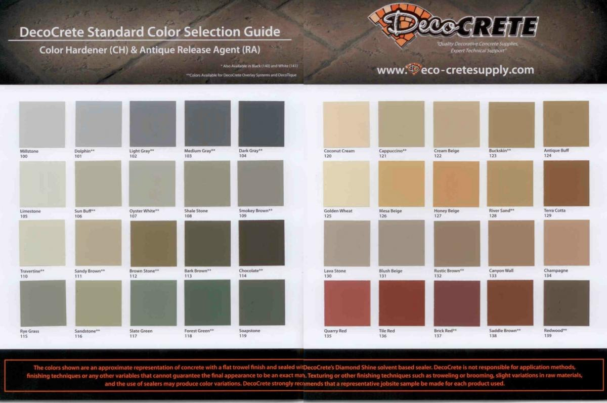 Stamped concrete deco crete supply the addition of a secondary color through the release powder gives the concrete more depth nvjuhfo Image collections