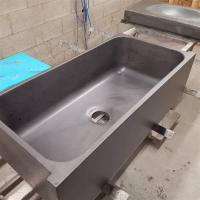 "Crete Molds 33"" x 16"" Farm Sink Mold - Round"