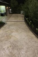 Add a quarry stone texture to any driveway or walk way