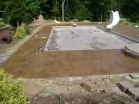 Seamless Light Sandstone is great for the pool area