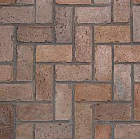 Proline Stamps Herringbone Used Brick