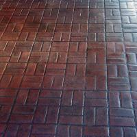 Matcrete New Brick Basket Weave Brick Pattern