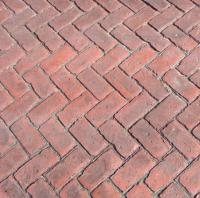 Matcrete Old Brick Herringbone Brick Pattern