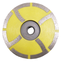 "Diteq D66065 4"" Medium Resin Cup Wheel"