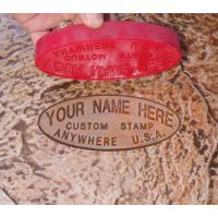 Proline Concrete Stamps Custom Name Stamp