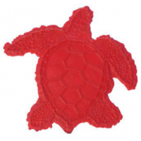 Proline Overhead View Sea Turtle Sculpted Accent
