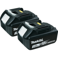 Makita BL1830-2 18V LXT Lithium-Ion Battery - 2 Pack