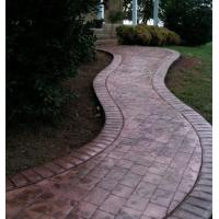 Matcrete New Brick 10' Radius Soldier Course Border Stamp