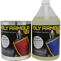 Poly Armour 100 Short Filled