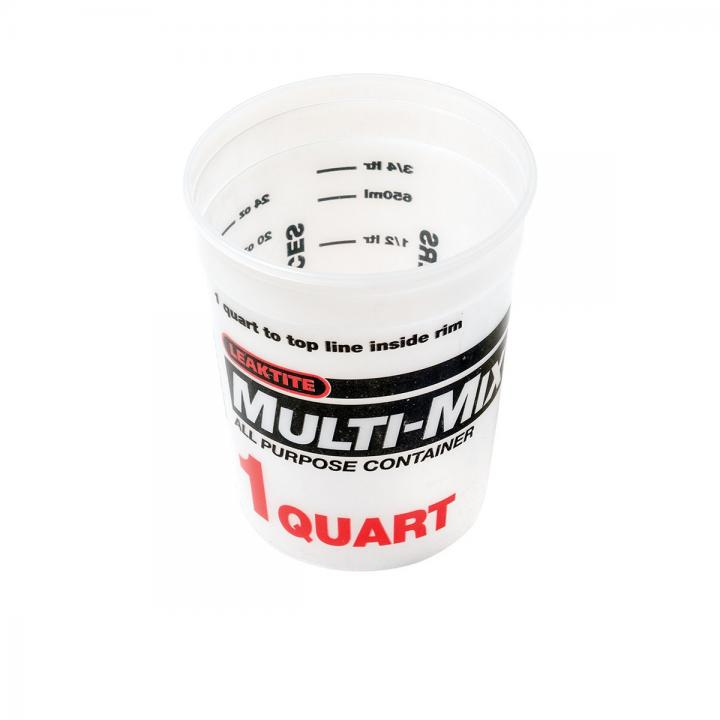 Midwest Rake 1 Quart Multi-Mix Container