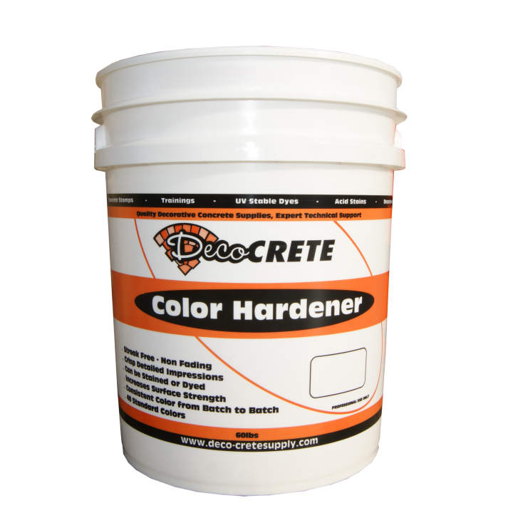 Deco-Crete Color Hardeners