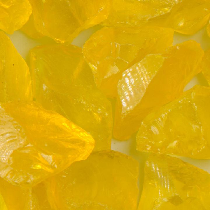 Yellow Medium Size Landscape Glass