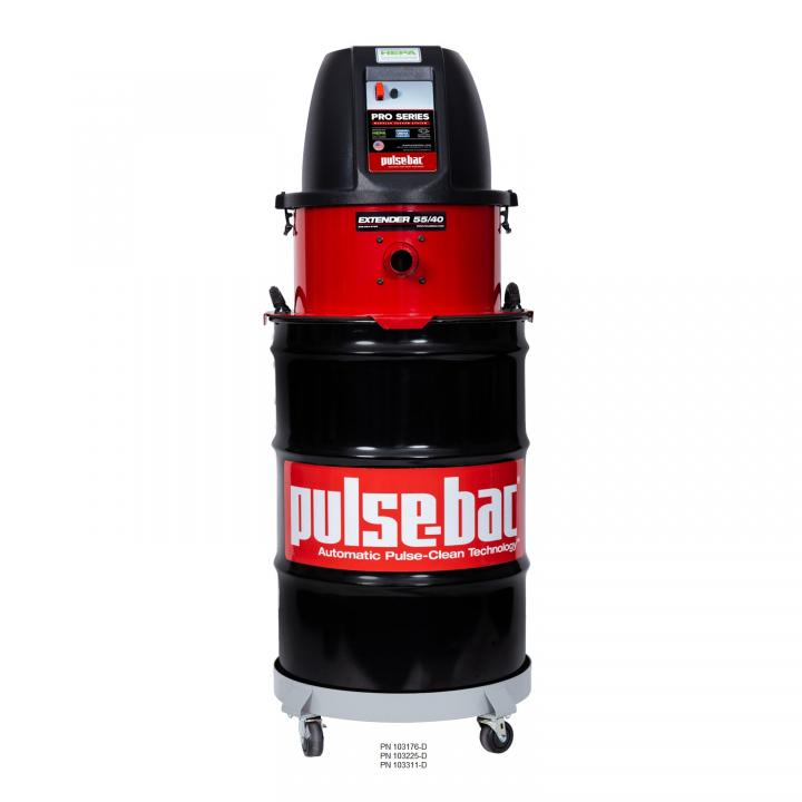 Pulse-Bac PRO-225 Series - 55 Gallon Drum
