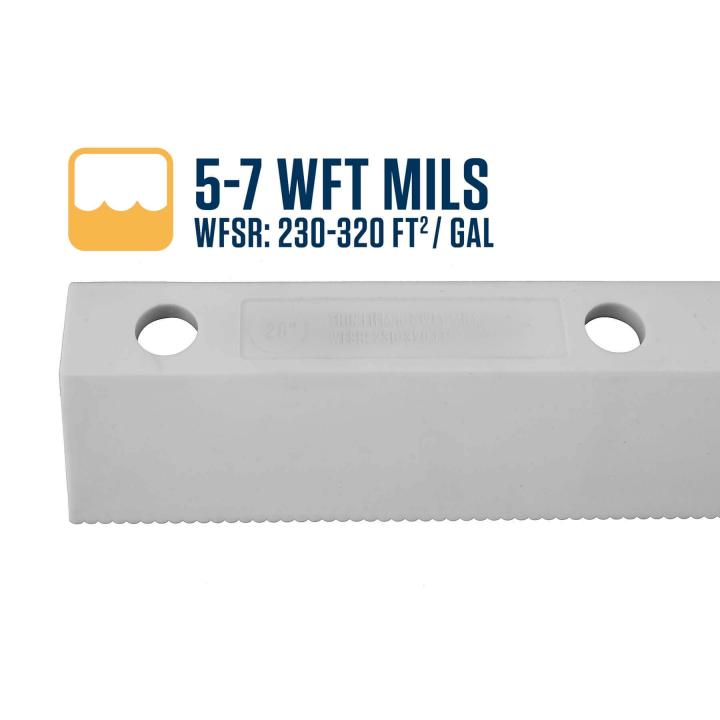 Midwest Rake 5-7 WFT Mils Easy Squeegee Blade