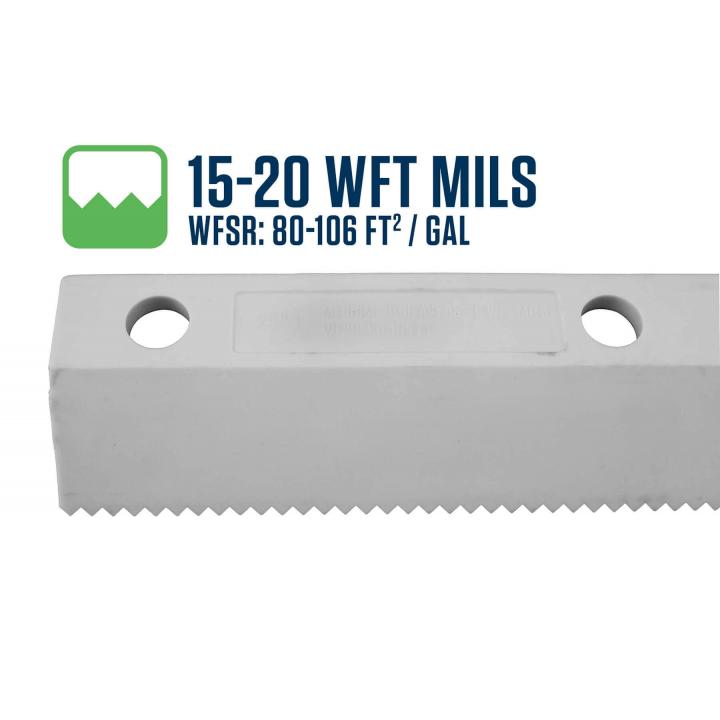Midwest Rake 15-20 WFT Mils Easy Squeegee Blade
