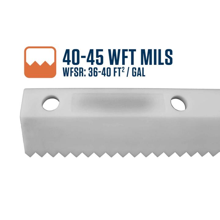 Midwest Rake 40-45 WFT Mils Easy Squeegee Blade