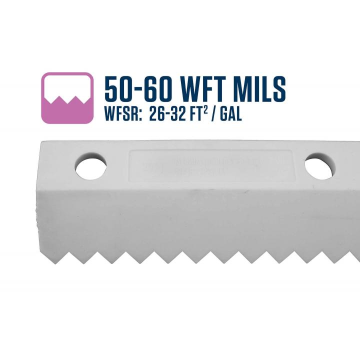Midwest Rake 50-60 WFT Mils Easy Squeegee Blade