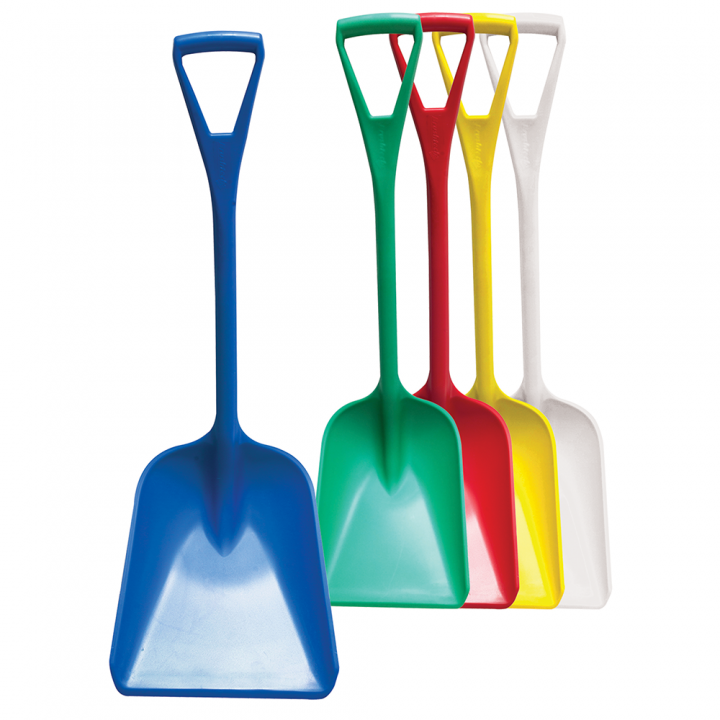 Malish Color-Coded Sanitary Shovels