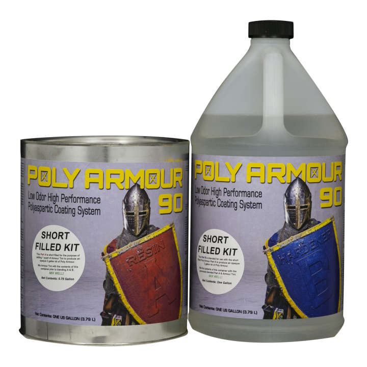 Poly Armour 90 Low Odor Short Filled Kit