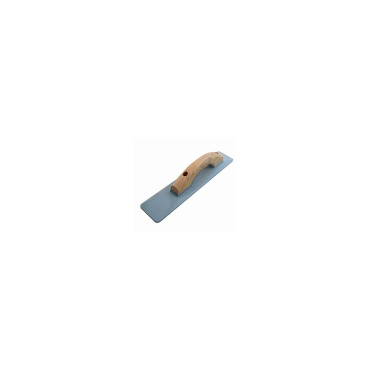 Bon Tool 22-133 Cast Thinline Mag Float w/Wood Handle