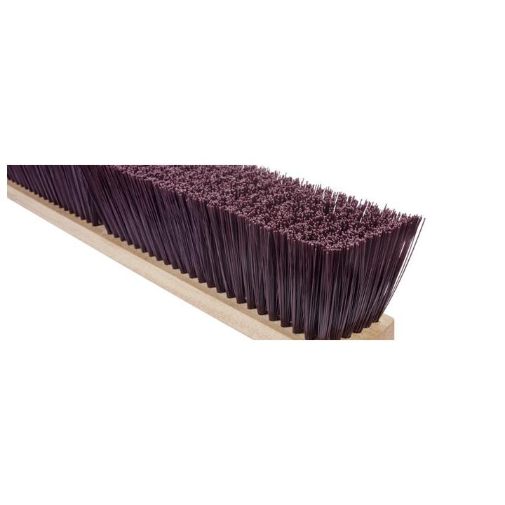 Magnolia Brush Coarse Brown Plastic Garage Brush