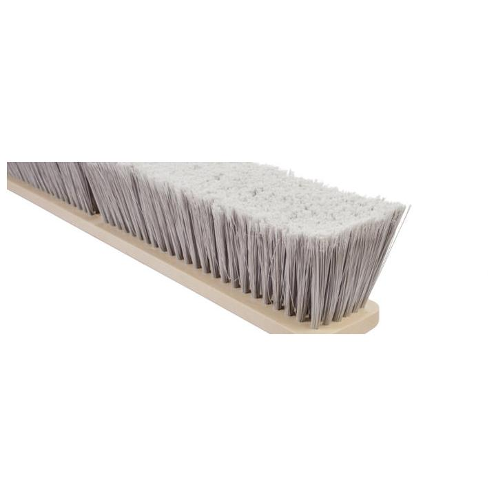 Magnolia Brush Silver Flagged Tip Plastic Floor Brush