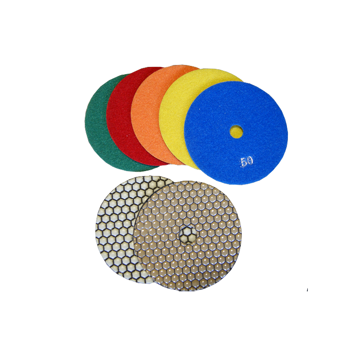 5 in. Dry Polishing Pads
