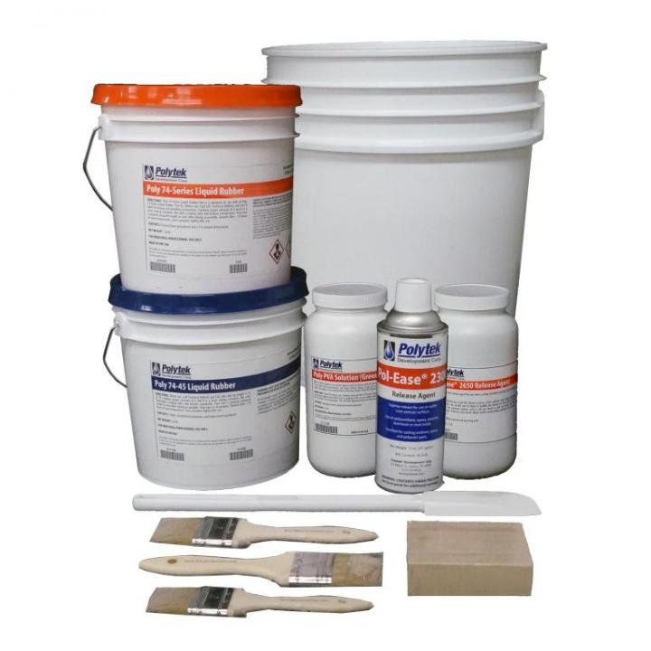 PolyTek Concrete Mold Making Starter Kit