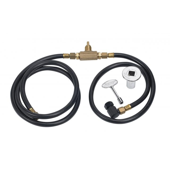 Hoses, Fittings and Key Valve for Natural Gas