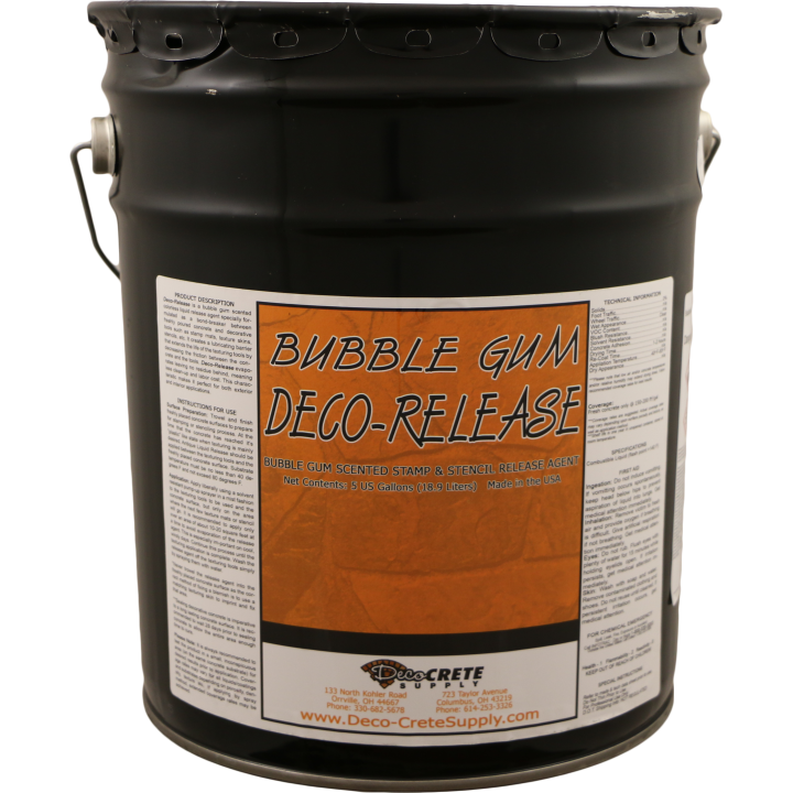 Deco-Crete Supply Liquid Bubble Gum Release