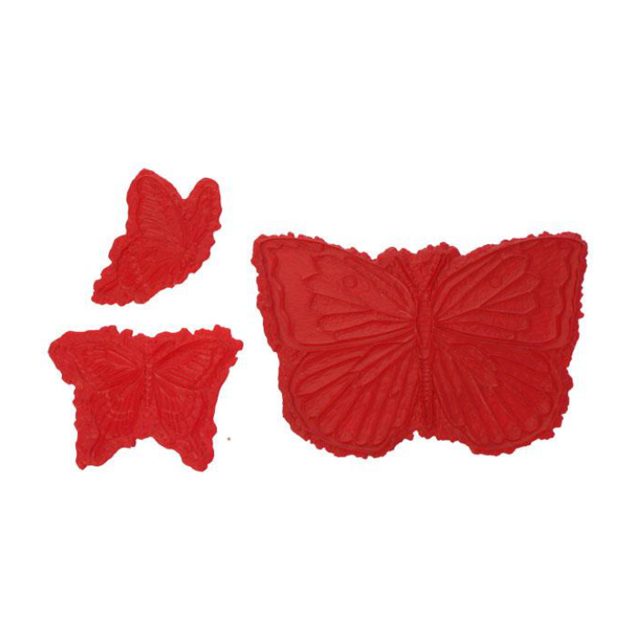 Proline Butterflies Set of 3 Sculpted Accents