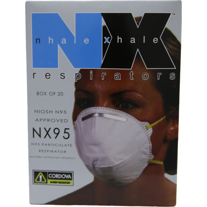 Respirator with 2 Straps