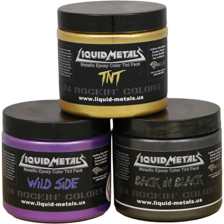 Liquid Metals Metallic Pack