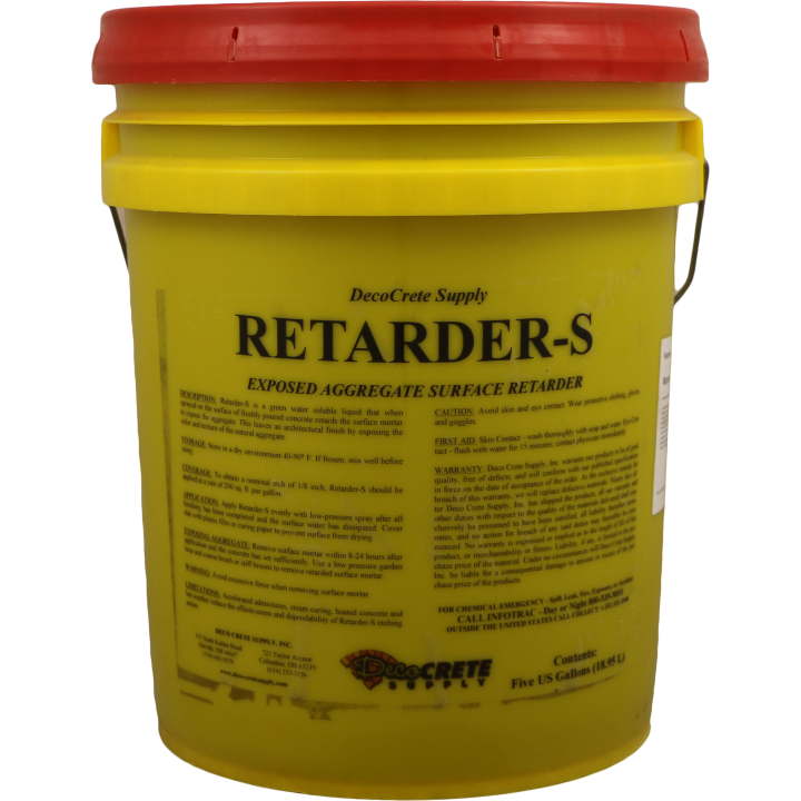 Deco-Crete Supply Retarder-S
